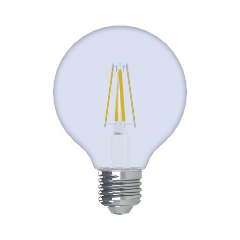 General Electric 2pk 60W Reveal G25 Clear LED Light Bulb White - image 1 of 2
