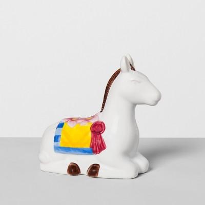 Donkey Stoneware Pepper Shaker White - Opalhouse™
