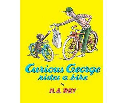 Curious George Rides a Bike ( Sandpiper Books) (Paperback) by H. A. Rey - image 1 of 1