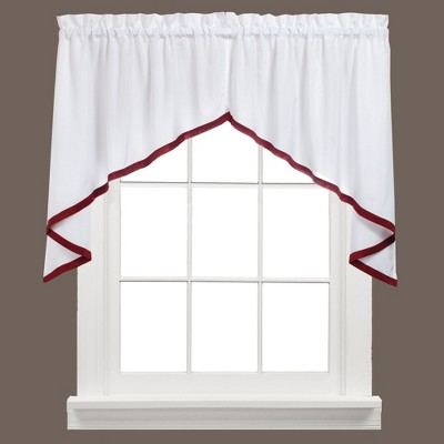 "Saturday Knight Ltd Kate Collection High Quality Stylish Classic & Beautiful Look Window Swag - (57""x28"")"