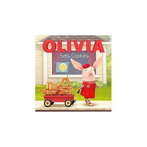 Olivia Sells Cookies (Paperback) by Natalie Shaw - image 1 of 1