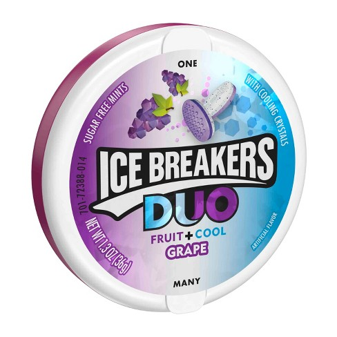 Ice Breakers Duo Grape Mint Candies - 1.3oz - image 1 of 2