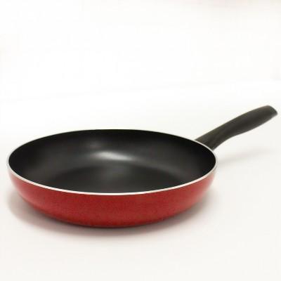 "BergHOFF Geminis 9.5"" Cast Aluminum Stir Fry Pan, Red"