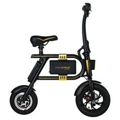 Swagtron Swagcycle Folding Electric Bike - Black, Adult Unisex