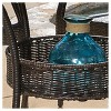 Lisbon 5pc Wicker Patio Dining Set - Brown - Christopher Knight Home - image 3 of 4