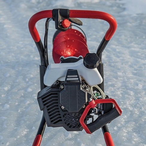 Eskimo F1 Viper 33Cc Gas Engine With Rocket 8 Inch Bit Ice Fishing Drill  Auger