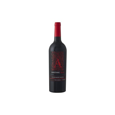 Apothic Red Blend Wine - 750ml Bottle