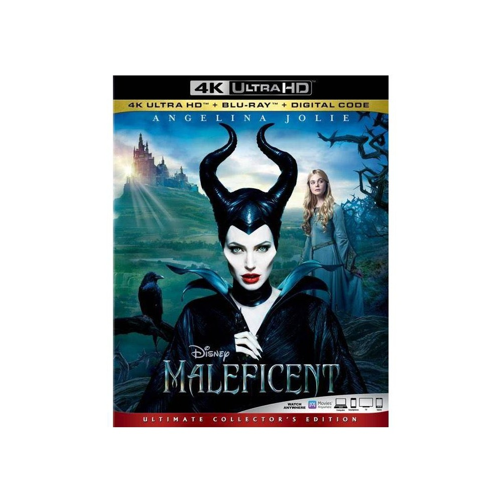 Maleficent (4K/UHD), movies was $29.99 now $20.0 (33.0% off)