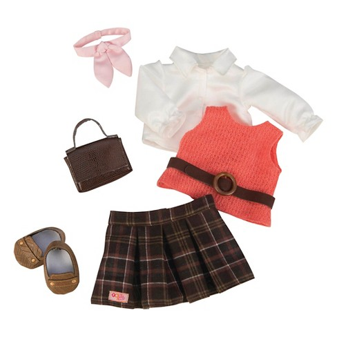 Our Generation® Deluxe Retro Outfit - Ready to Get Preppy™ - image 1 of 2