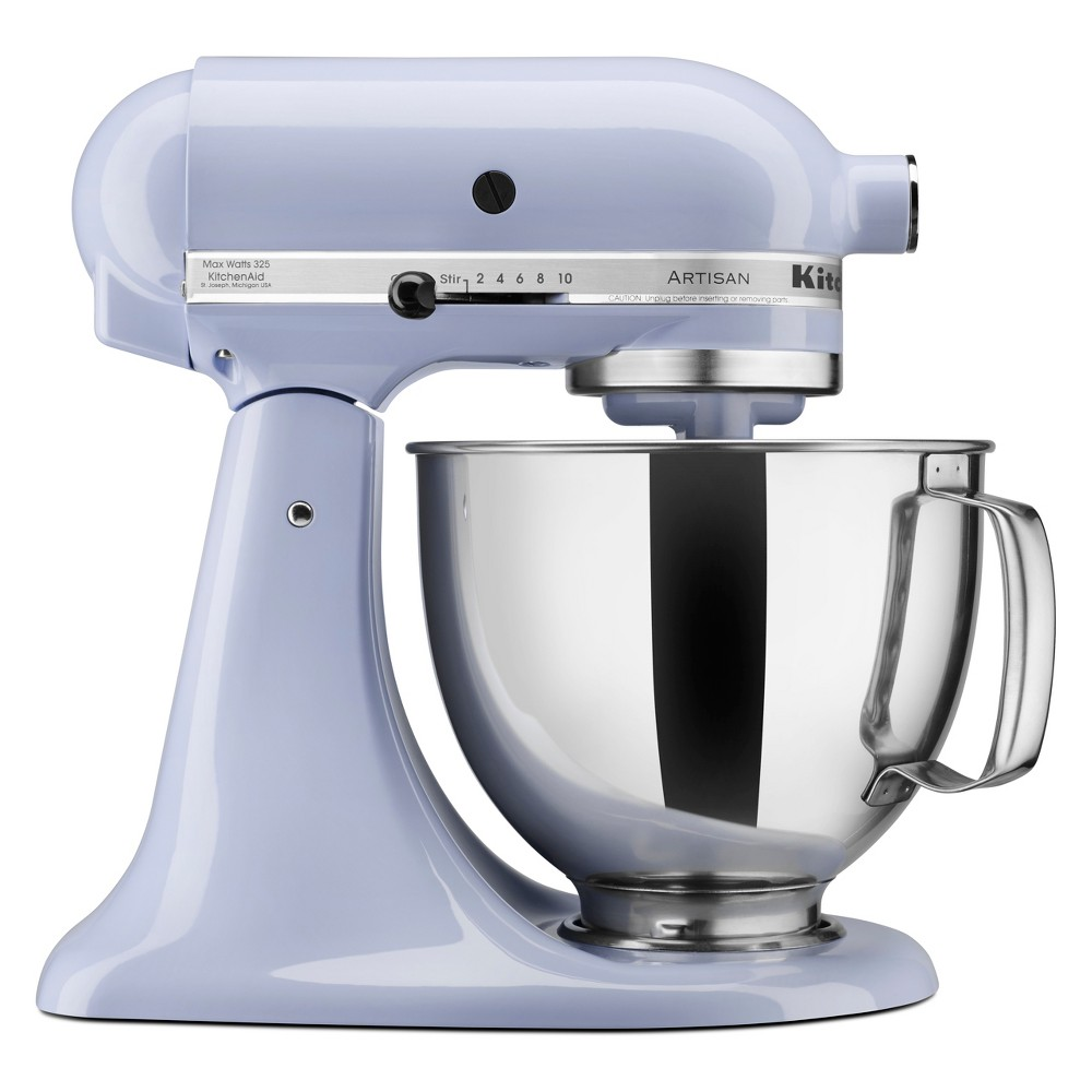 KitchenAid Refurbished 5qt Artisan Stand Mixer Lavender (Purple) – RRK150LV 53960965