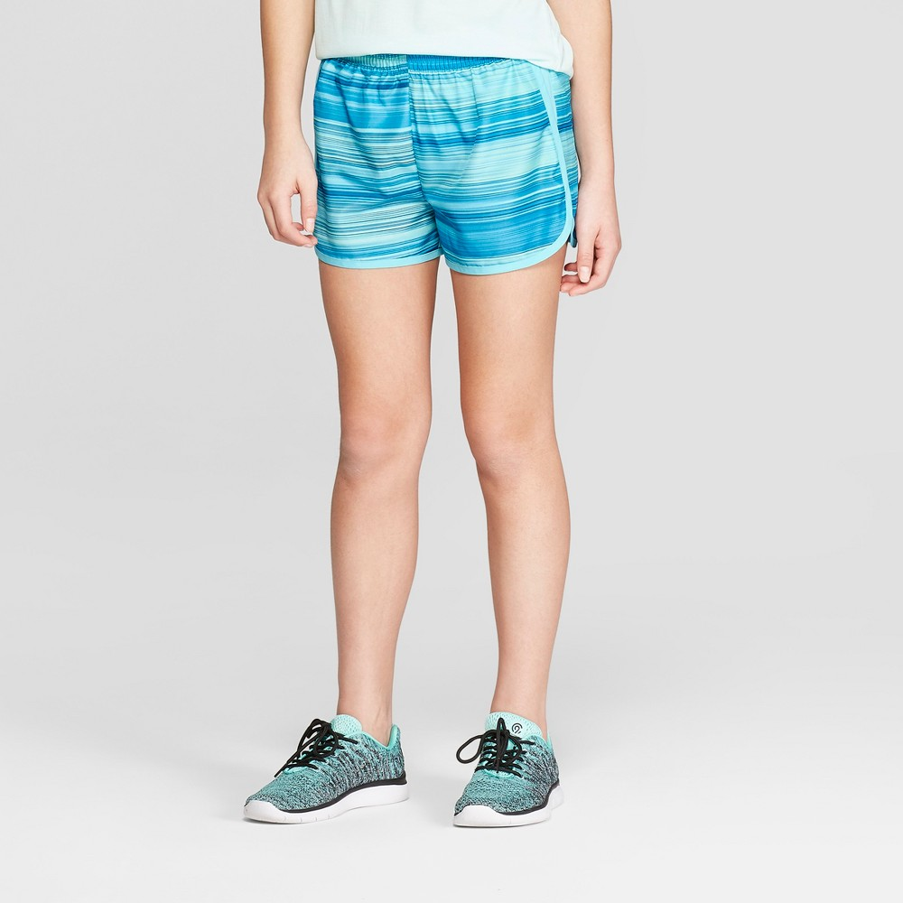 Girls' Run Shorts - C9 Champion Blue S