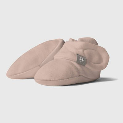 Goumi Baby Organic Cotton Boots - Pink 0-3M