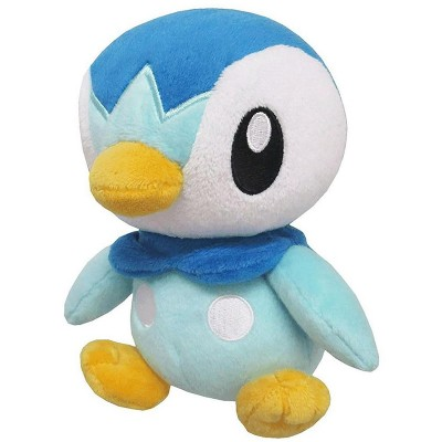 Sanei Pokemon All Star Collection 6 Inch Plush   Piplup