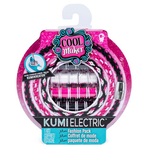 Cool Maker KumiElectric Mini Fashion Pack (Black/Pink/White) - image 1 of 3