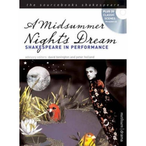 A Midsummer Night's Dream - (Sourcebooks Shakespeare) by  William Shakespeare (Paperback) - image 1 of 1