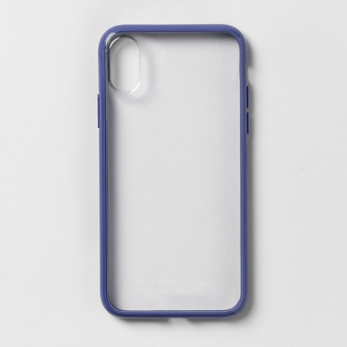 heyday™ Apple iPhone X/XS Clear Case with Bumper Frame - image 1 of 4