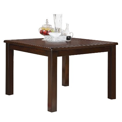 Easton Counter Height Dining Table   Brown Cherry   Acme