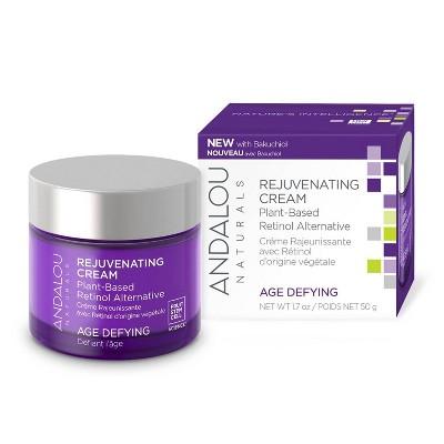 Andalou Naturals Age Defying Rejuvenating Plant Based Retinol Alternative Cream - 1.7oz