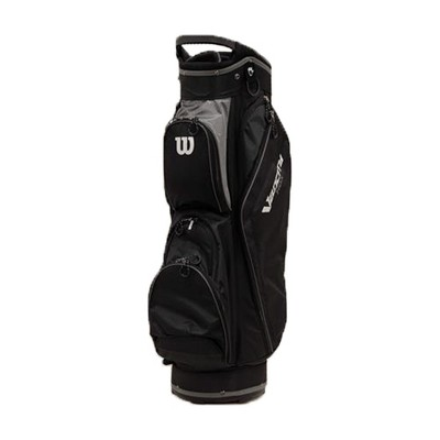 Wilson WGB4710BL Lightweight Weatherproof Velocity HDX Cart Bag w/ Shoulder Strap & 14 Dividers, Gray