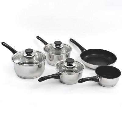 BergHOFF Vision 8Pc 18/10 SS Cookware Set