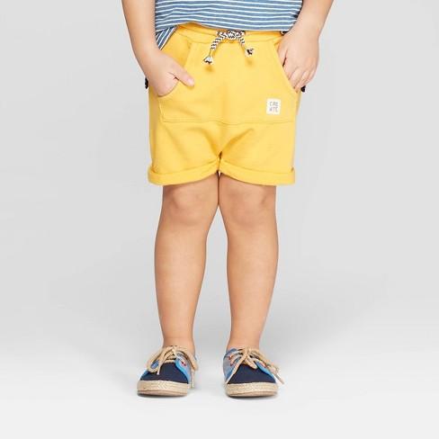 4c4e18f4c3 Toddler Boys' Knit Shorts - art class™ Yellow 12M