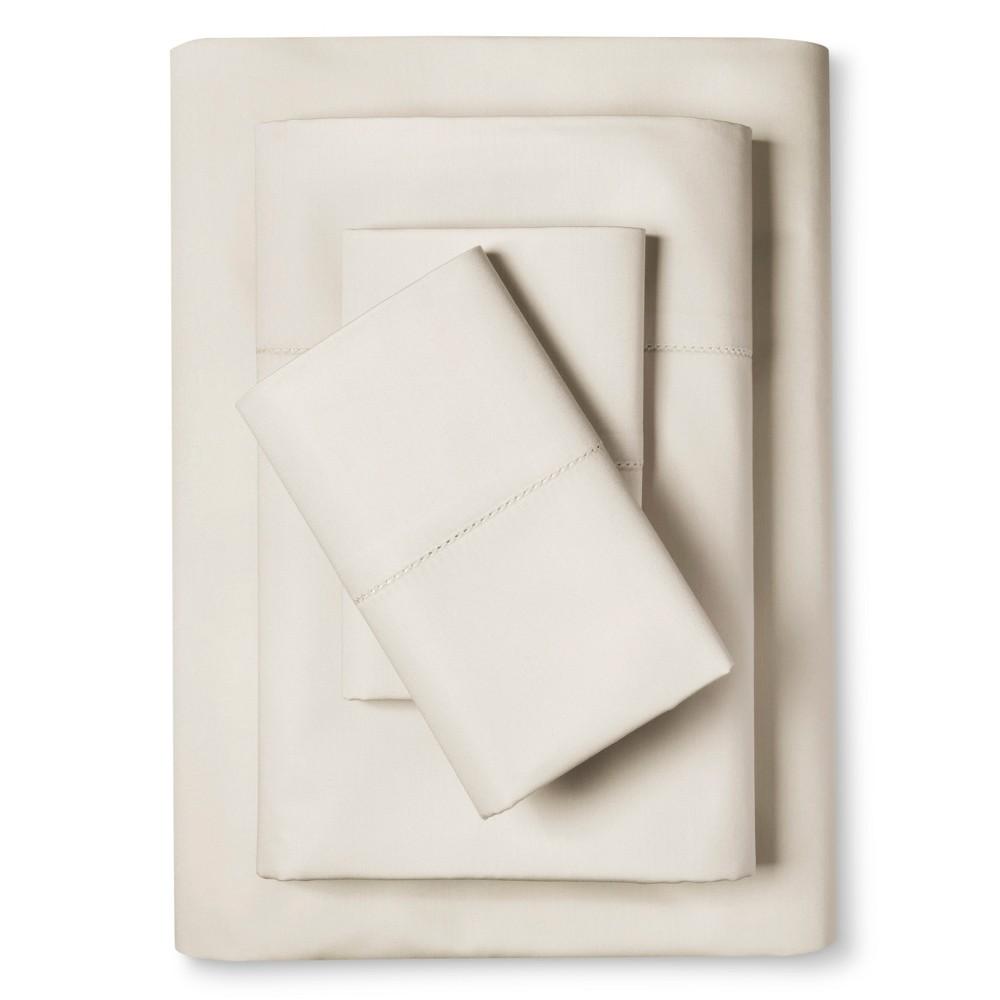 Luxury Comfort 1500 Thread Count Sheet Set (Cal King) Ivory - Elite Home