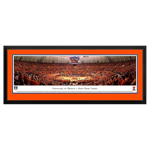 NCAA Blakeway Basketball Arena View Framed Wall Art - Deluxe Frame - image 1 of 1