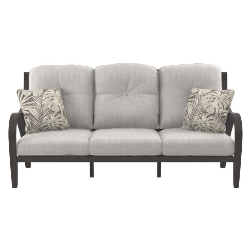Marsh Creek Sofa with Cushion - Brown - Outdoor by Ashley