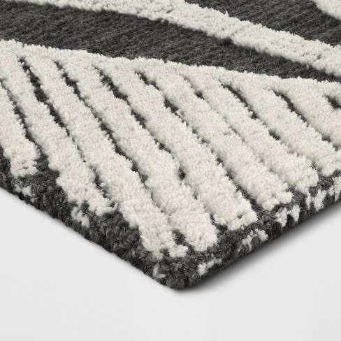 Pink Cream Gray Tufted Area Rug Project 62 Target