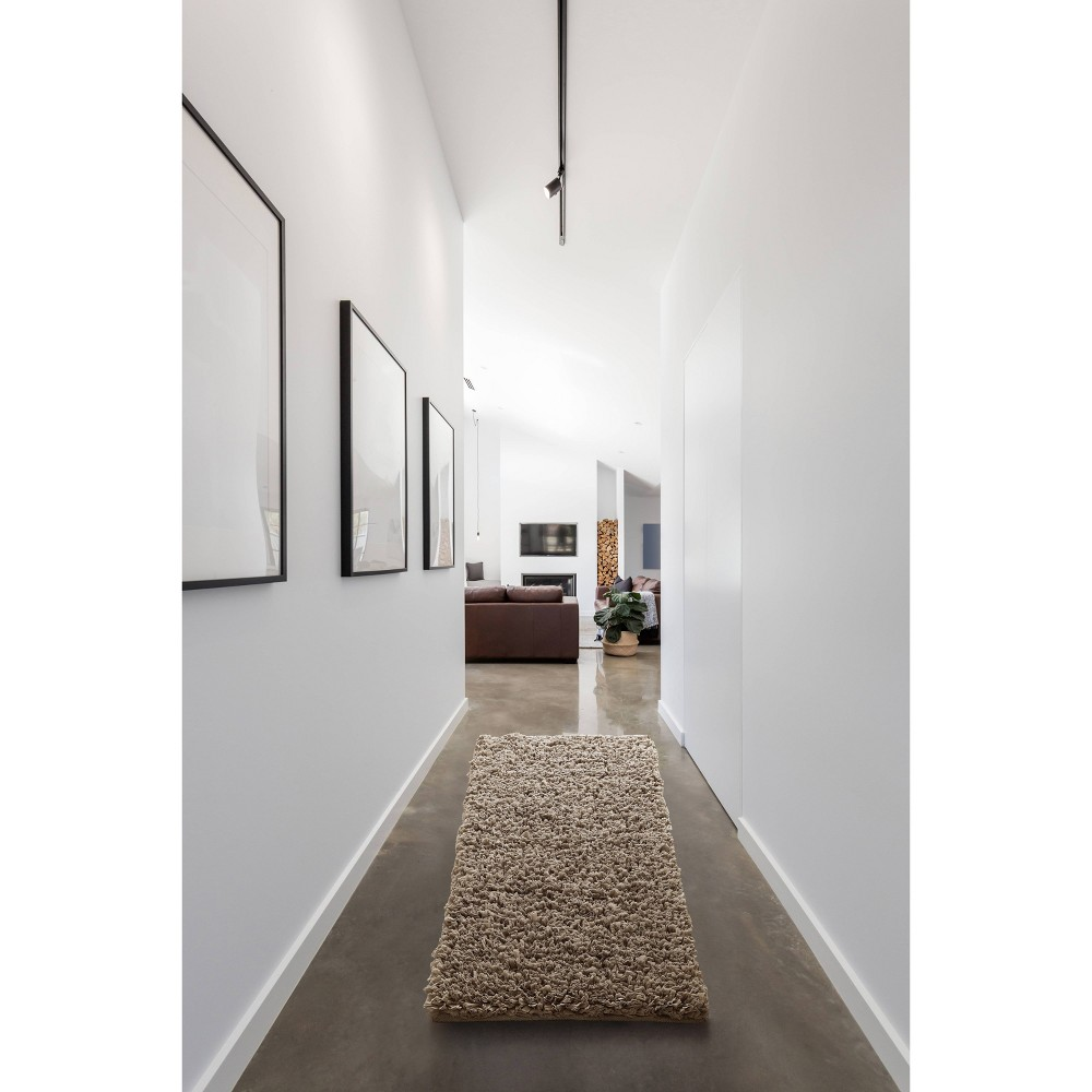 """Image of """"24""""""""X60"""""""" Paper Shag Runner Taupe - VCNY"""""""