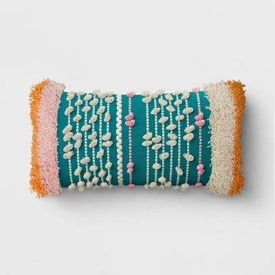 Textured Stripe Throw Pillow - Opalhouse™