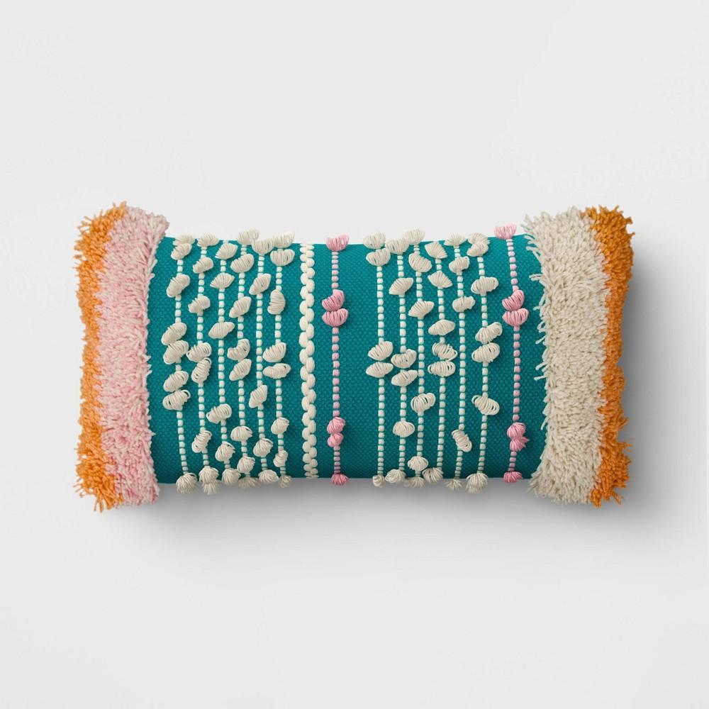 Top Textured Stripe Throw Pillow - Opalhouse™