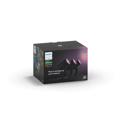 Philips Hue White & Color Ambiance Lily Outdoor Spot LED Light Base Kit