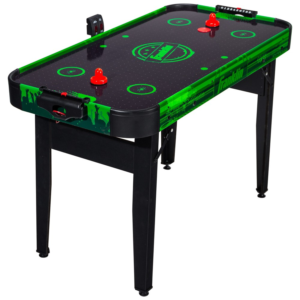 Franklin Sports 48 Authentic Air Hockey Table, Multi-Colored