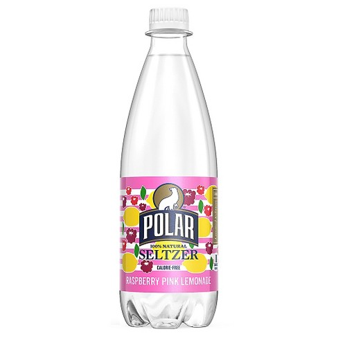 Polar Seltzer Raspberry Pink Lemonade 20oz - image 1 of 1