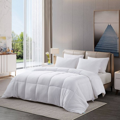 All Seasons 300 Thread Count Rayon from Bamboo Cooling Comforter - Martha Stewart - image 1 of 4
