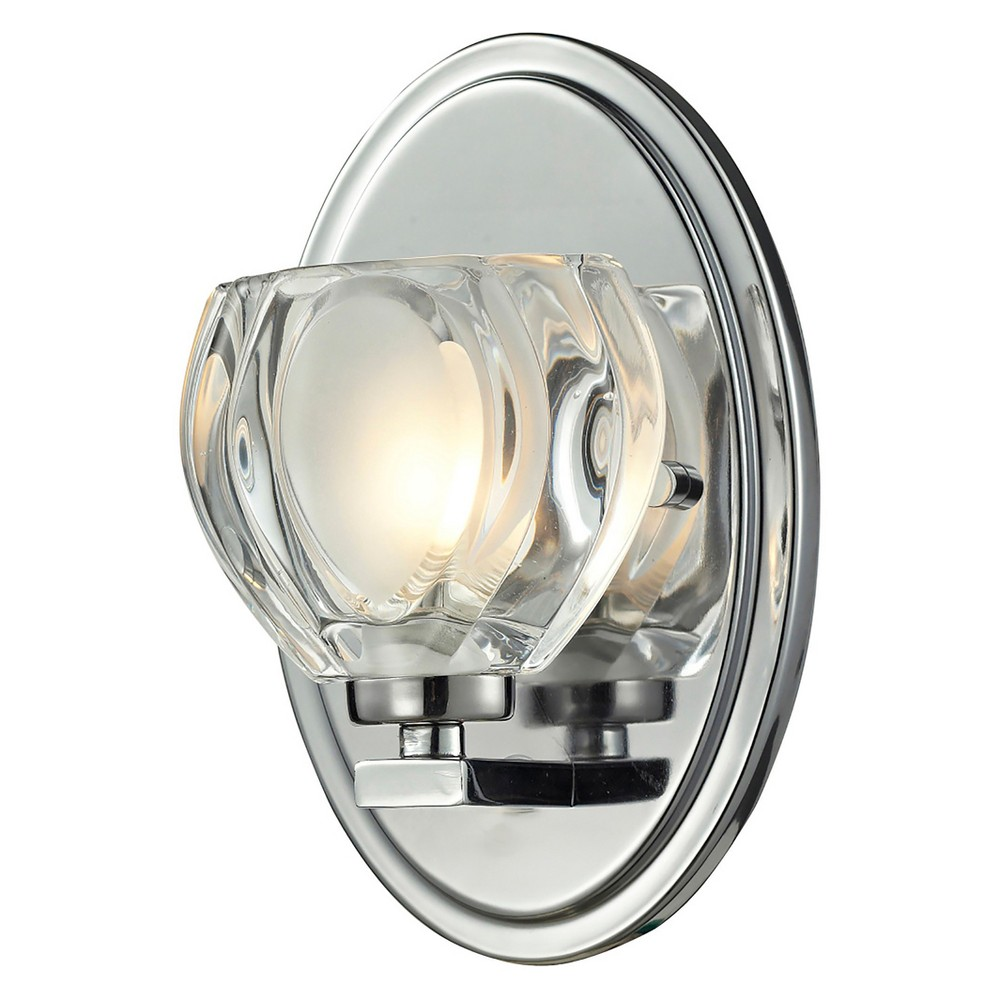 Image of Vanity Wall Lights with Clear and Frosted Glass - Z-Lite