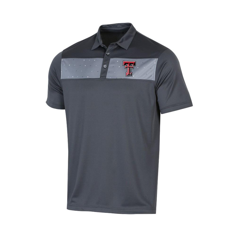 NCAA Men's Short Sleeve Polo Shirt Texas Tech Red Raiders - XL, Multicolored