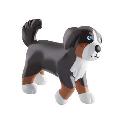 "HABA Little Friends Dog Leika - 2.5"" Tall Chunky Plastic Toy Figure"