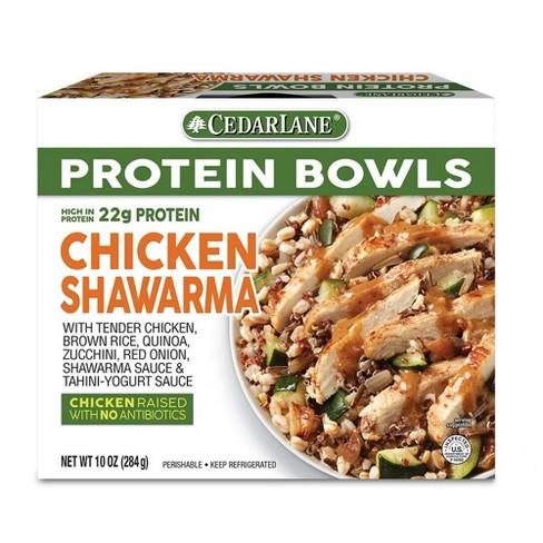 Cedarlane Protein Bowls Chicken Shawarma - 10oz - image 1 of 1