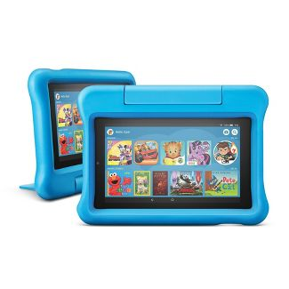 Buy 2: Amazon Fire 7 Tablet Kids Edition - Blue