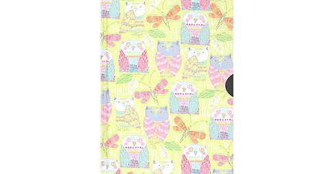 Pop Owls Locking Journal (Hardcover) - image 1 of 1