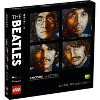 LEGO Art The Beatles Collectible Creative Beatles Canvas Wall Art Building Kit 31198 - image 4 of 4