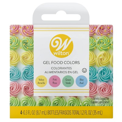 Wilton Gel Icing Decorating Set - 1.2 floz/4ct