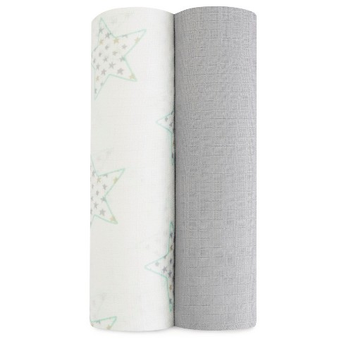 aden by aden + anais Silky Soft Swaddles - 2pk - image 1 of 2