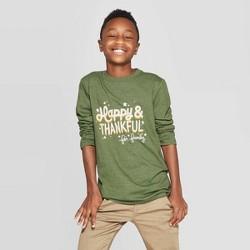 Boys' Long Sleeve Graphic T-Shirt - Cat & Jack™ Green