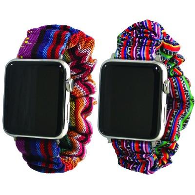 Olivia Pratt Printed Scrunchie Apple Watch Band