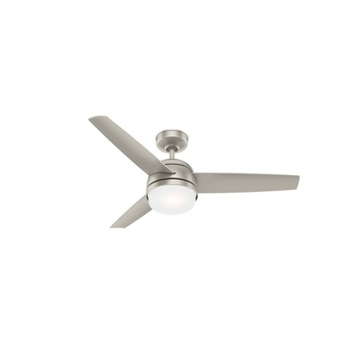 48 Midtown Ceiling Fan With Remote Includes Led Light Bulb Hunter Fan Target