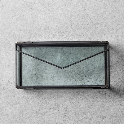Envelope Jewelry Box Black - Hearth & Hand™ with Magnolia