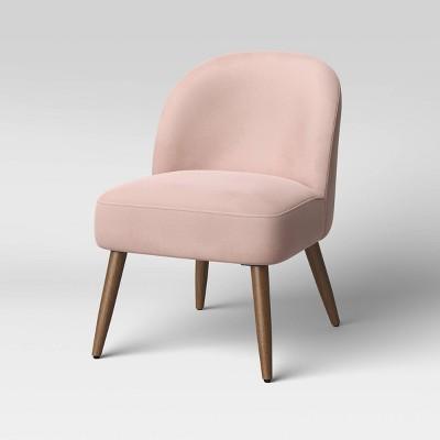 Minuta Pleated Back Armless Accent Chair - Opalhouse™